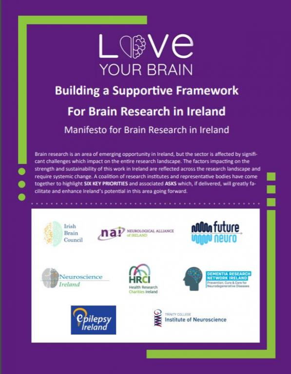 Building a Supportive Framework For Brain Research in Ireland Manifesto